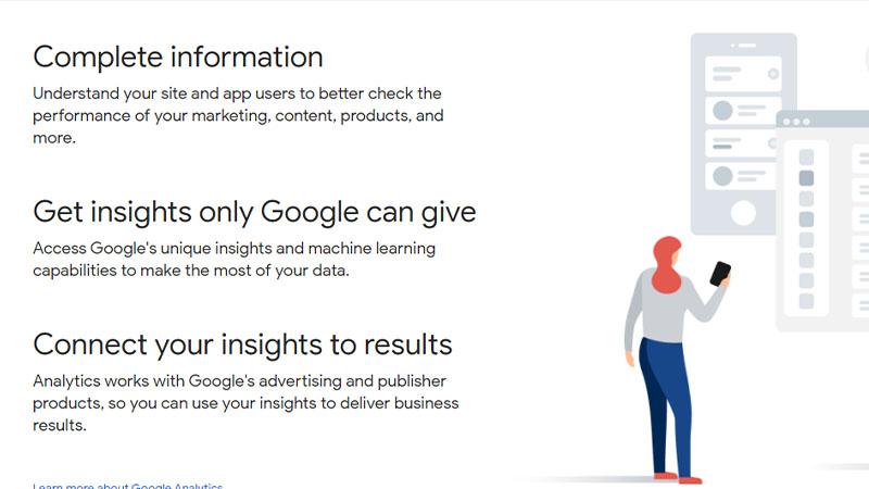 Google Analytics ابزار رایگان سئو