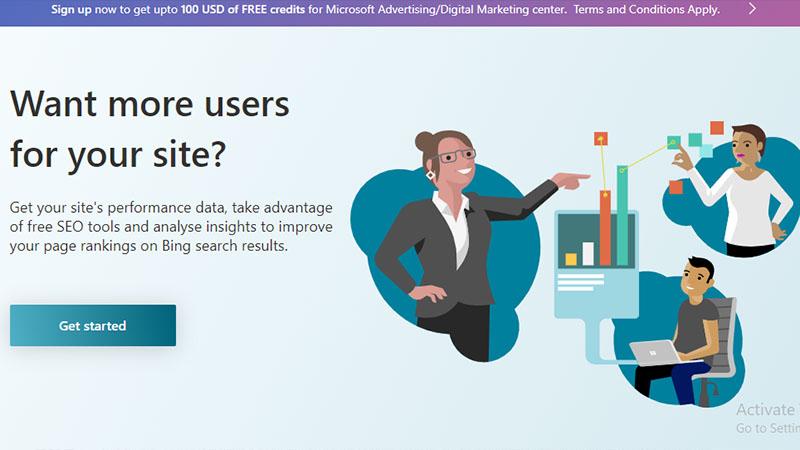 Microsoft Bing Webmaster بهترین ابزار سئو