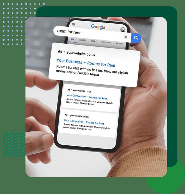 شارژ حساب گوگل ادز