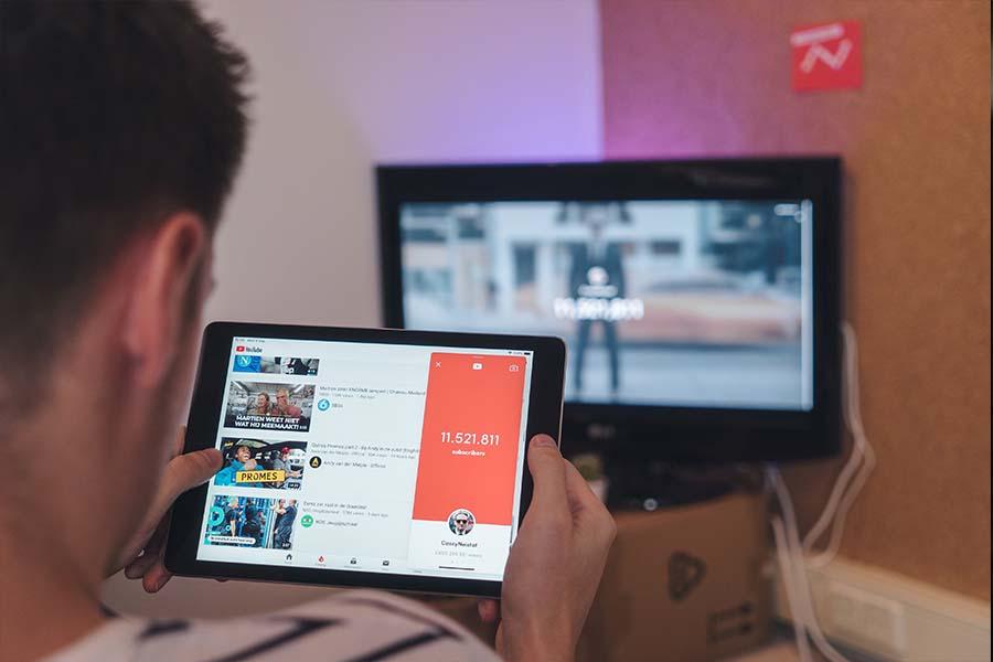 نحوه ساخت کانال یوتیوب